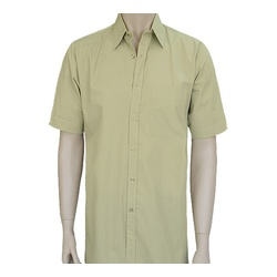 Mens Tetra Cotton Short Sleeve Shirts