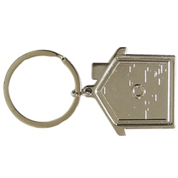 House Metal Keyring  REF J30073