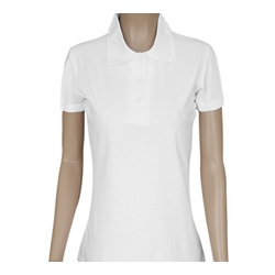 Ladies Lacoste Plain Polo Shirts