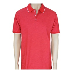 Mens Micro Dotted Poloshirts