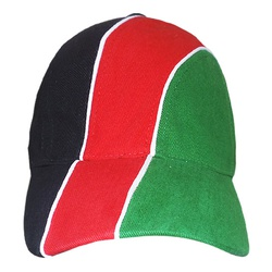 Brushed Cotton Cap With Flag Colours
