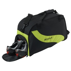 Wave Design Duffle Bag With Shoe Compartment